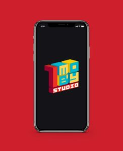 1Moby Studio Logo design