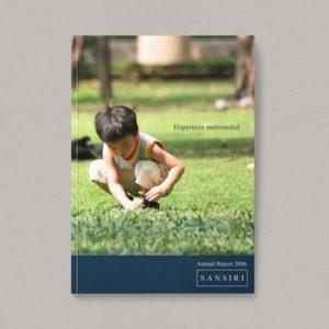 Sansiri Annual Report 2006