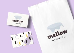 Mellow Pudding Logo Design